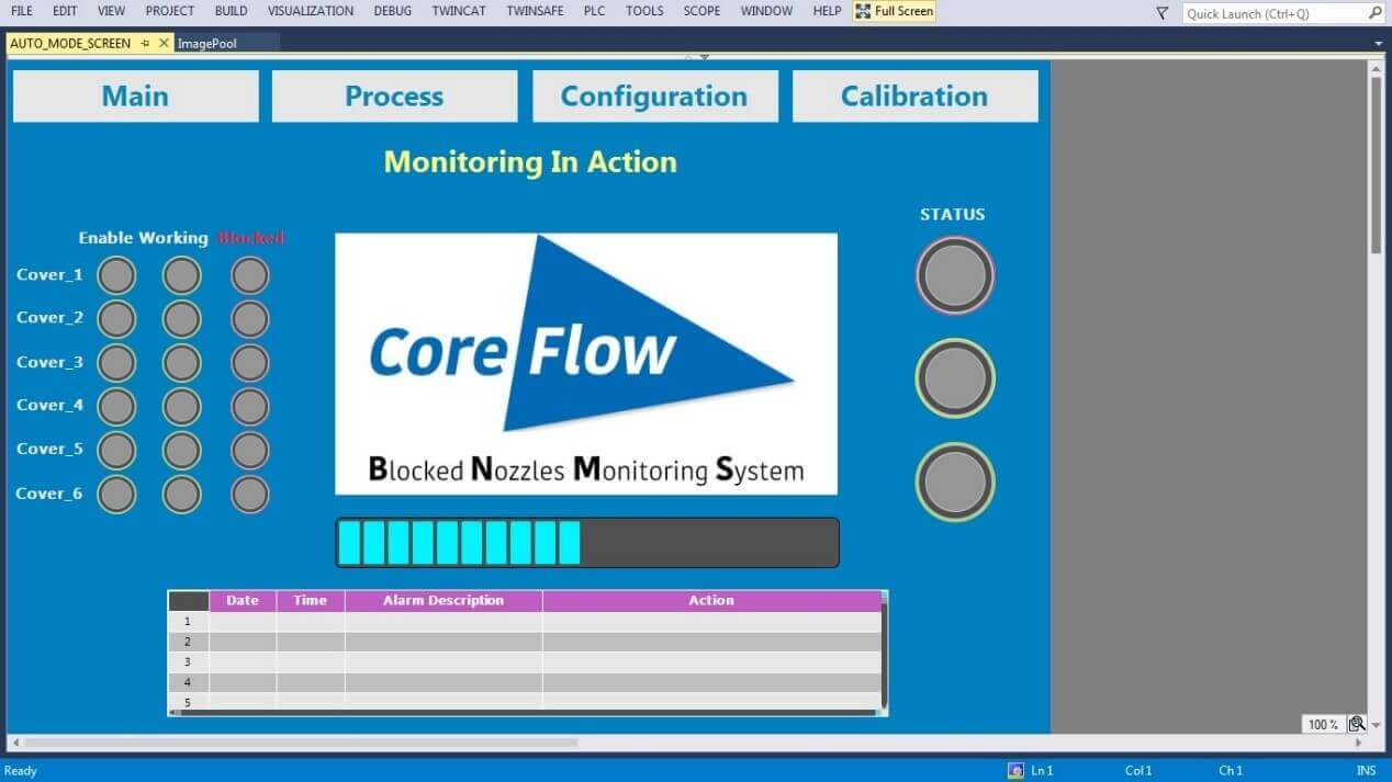 CoreFlow Announces New Stage Blockage Monitoring System for PV (Pressure Vacuum) air-floating stages