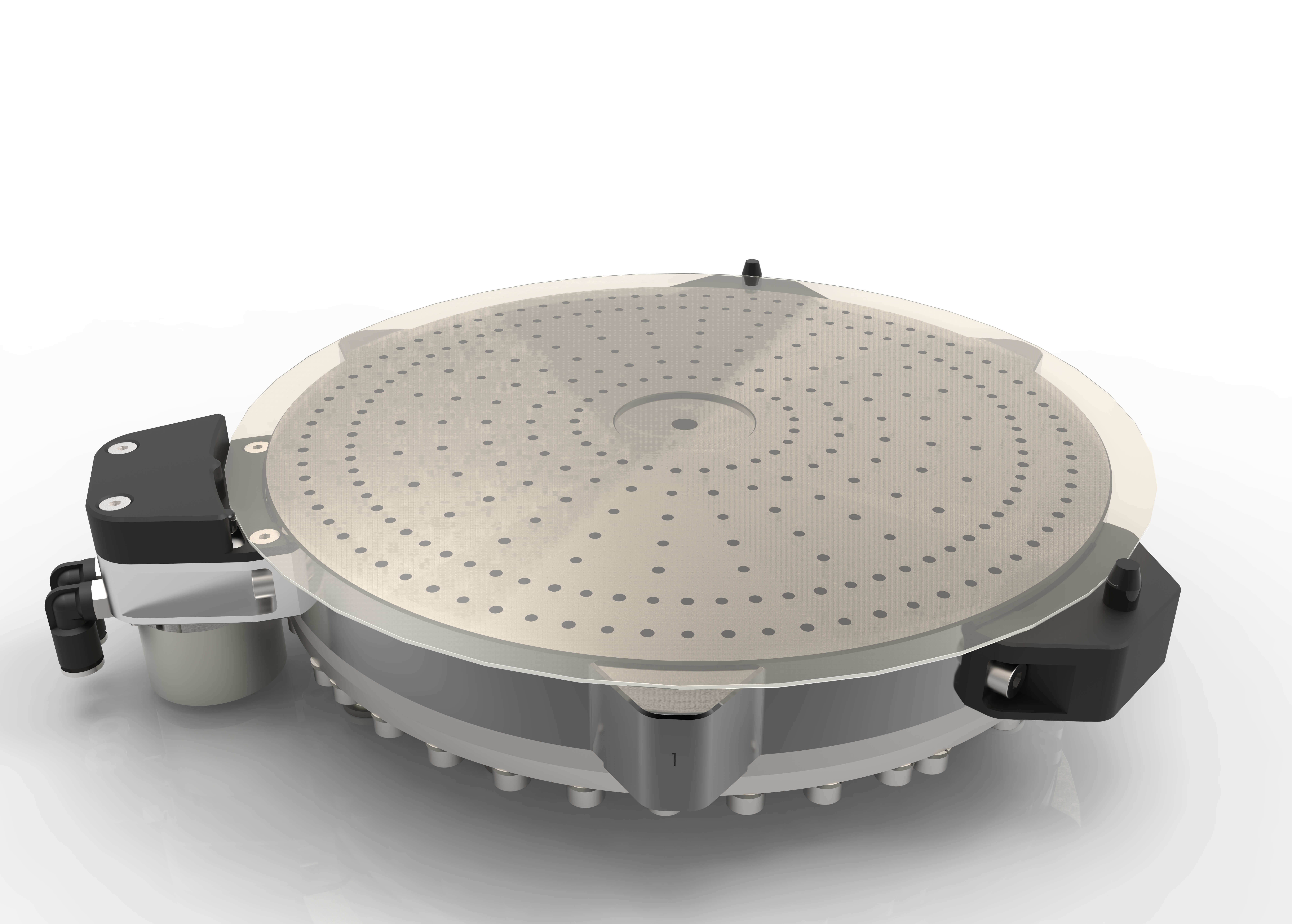 CoreFlow's non-contact chuck reduces backside particle contamination in semiconductor wafers
